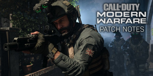 Call of Duty: Modern Warfare Новый патч 1.11 для ПК, PS4, Xbox One. Позволяет до 4-х игроков в игре Gun