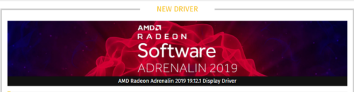 Скачать AMD Radeon Adrenalin 2019 19.12.1